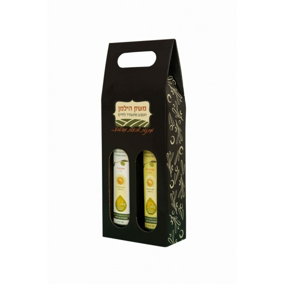 מארז פחי שמן זית ארבקינה + קורונייקי