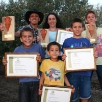 כל המשפחה שותפה בפרסי היוקרה של שמן הזית